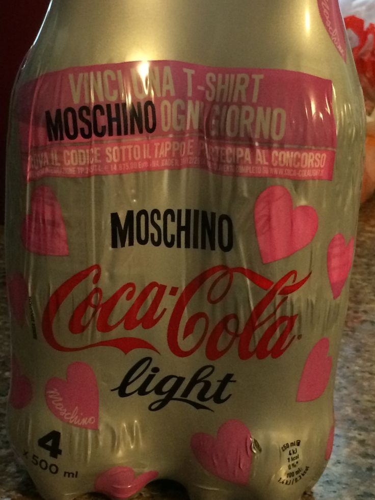 Coca Cola limited edition by Moschino