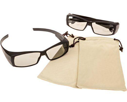 Amazon.com: Passive 3D glasses, for LG, Panasonic, Vizio, Toshiba and all Passive 3D TVs & REALD 3D glasses for RealD 3D Cinema: Electronics