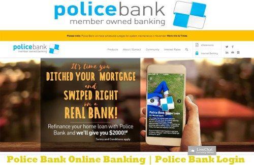 Police Bank Online Banking Police Bank Login Tecteem Bank