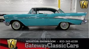 '57 Chevy Bel Air Gateway Classic Cars - classic cars for sale, muscle cars for sale, street rods, hot rods, mopars, antique cars, vintage cars