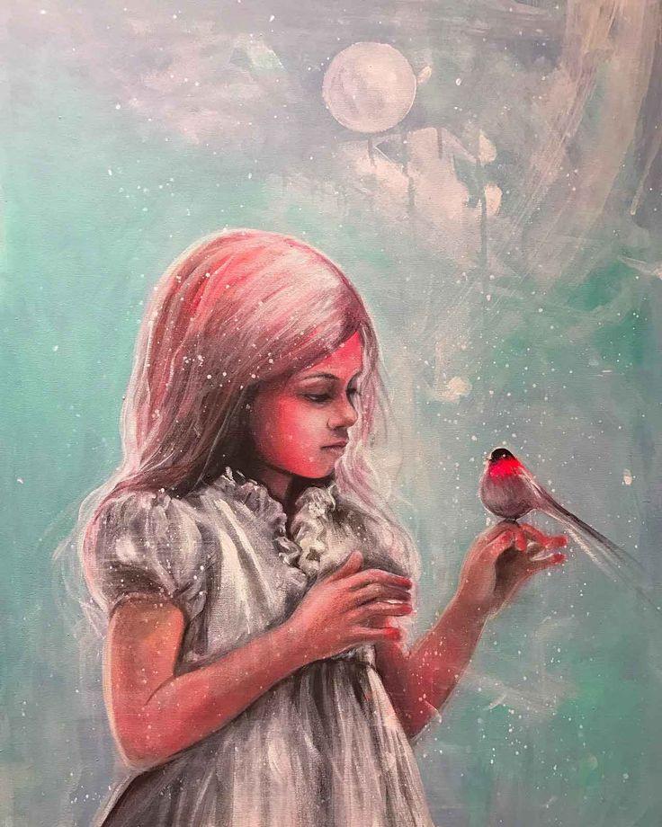 Maleri på lerret. 80 x 60 cm solgt! Bildet vil bli utstilt på Oslofjorden Kunstsenter i april 2017. Mer info kommer
