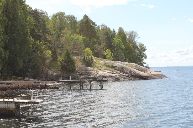 Kroken. One of alle bathplaces in the Oslofjord.