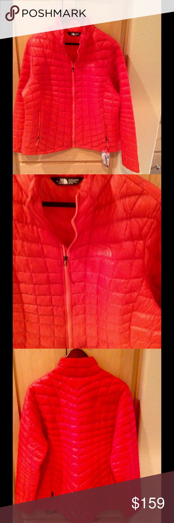 NEW The North Face Women's Thermoball Jacket Brand new Women's Thermoball Jacket in melon red color in XL.  No trade.  Price is firm. The North Face Jackets & Coats