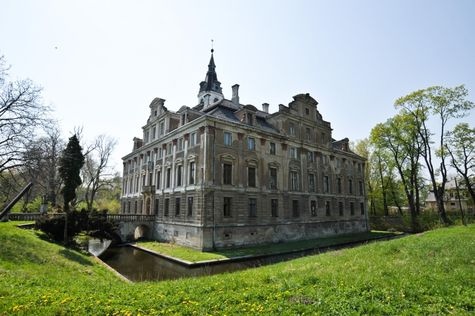 Hochberg palace, Roztoka, Lower Silesia, Poland.