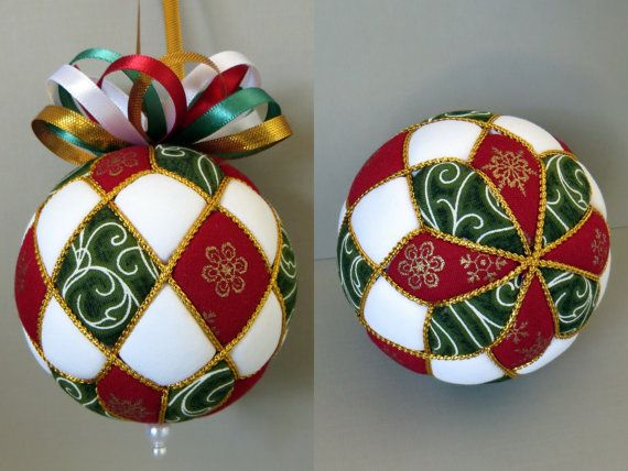 Learn to make your very own Argyle kimekomi Christmas ornament with this PDF tutorial. In this tutorial you will find detailed step-by-step