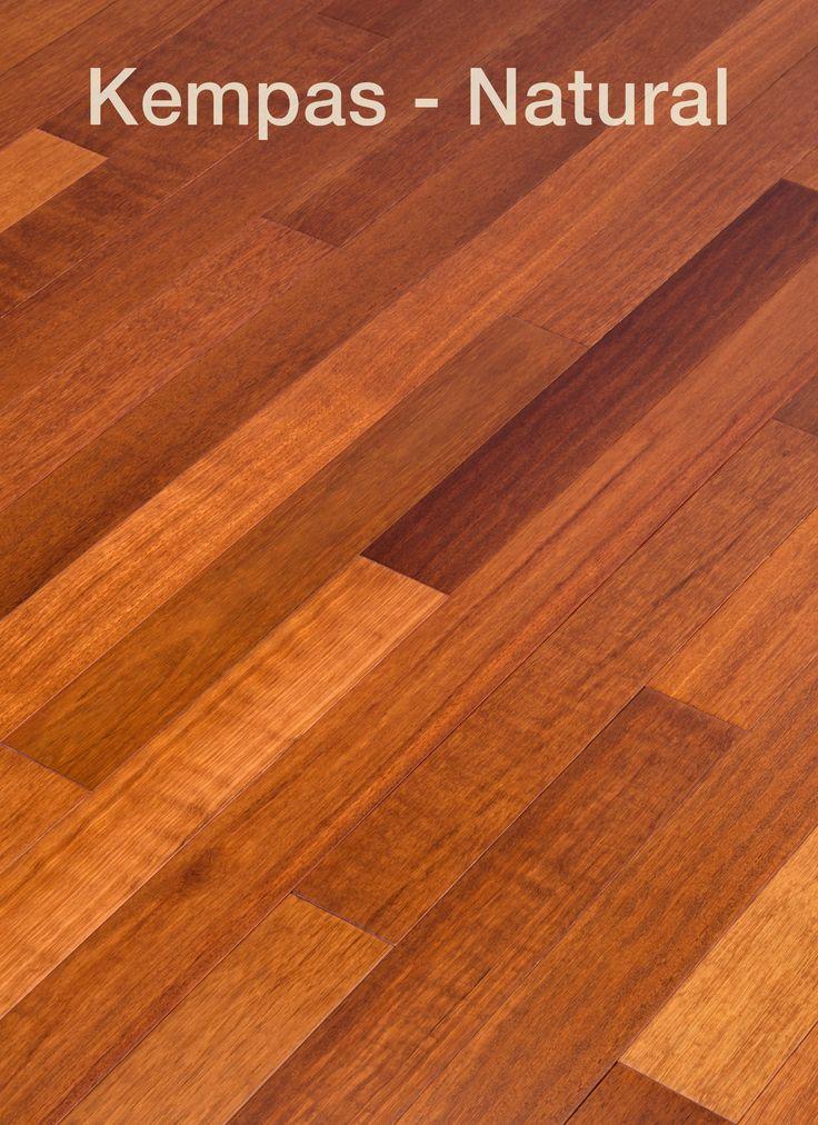 Kempas Natural by Nova's Elemental Exotic line of stunning prefinished hardwood flooring.