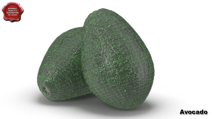 3d model of Avocado by 3d_molier International