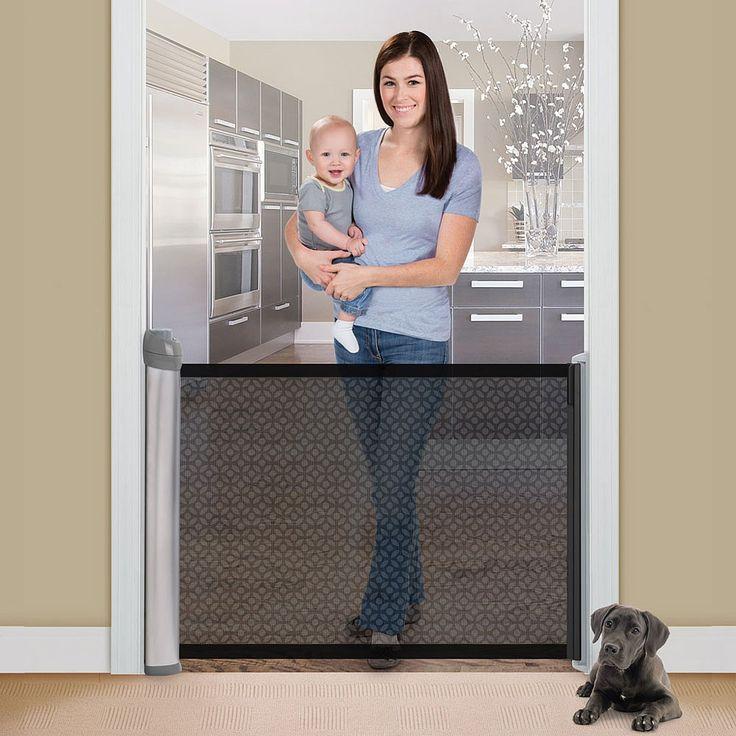les 25 meilleures id es de la cat gorie barri re d 39 escalier r tractable sur pinterest porte. Black Bedroom Furniture Sets. Home Design Ideas