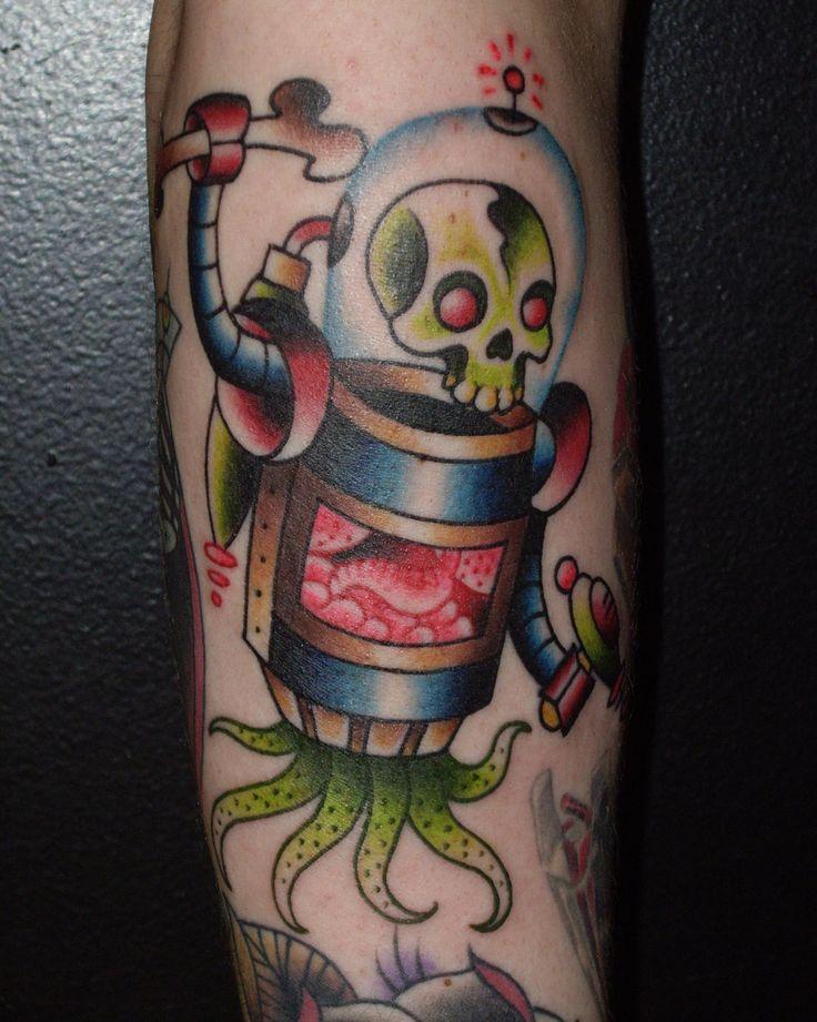 robot tattoos | robot-tattoo-miles-kanne » robot-tattoo-miles-kanne