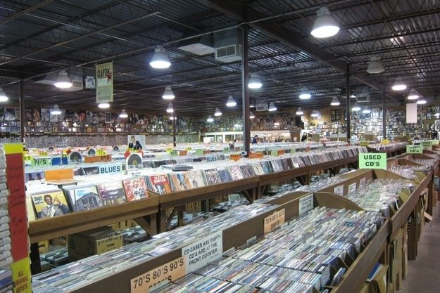 Forever Young Records in Grand Prairie, Texas, was included in BuzzFeed's round-up of Breathtaking Record Stores You Have To Shop At Before You Die. Forever Young is so massive that it's more like a permanent record fair than a regular record store. Located in the middle of Grand Prairie, Texas, in a series of strip malls, the store represents that if you look hard enough, you can find an amazing record store anywhere.