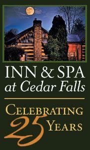 Hocking Hills Ohio Cabin Rentals B & Cottages Restaurant   Inn and Spa at Cedar Falls, Hocking Hills, Ohio