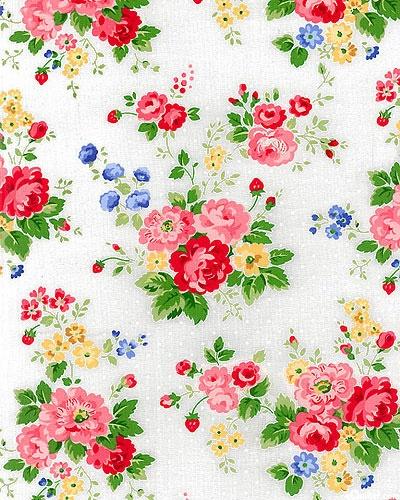 Pam Kitty Kitchen Floral