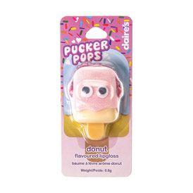 Brillant à lèvres parfum donut
