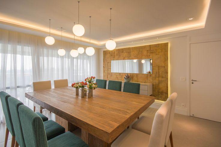 Apartamento Chef de Cozinha Sala de Jantar Projeto - Enzo Sobocinski Arquitetura