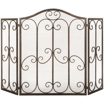 1833 best tuscan home decor images on pinterest tuscan Metal Mesh Screen for Fireplace Metal Fire Screen