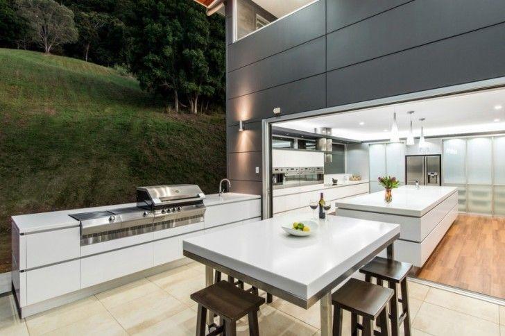 kitchen Modern Outdoor Kitchen PatioBeautiful Outdoor Kitchen Ideas for Summer