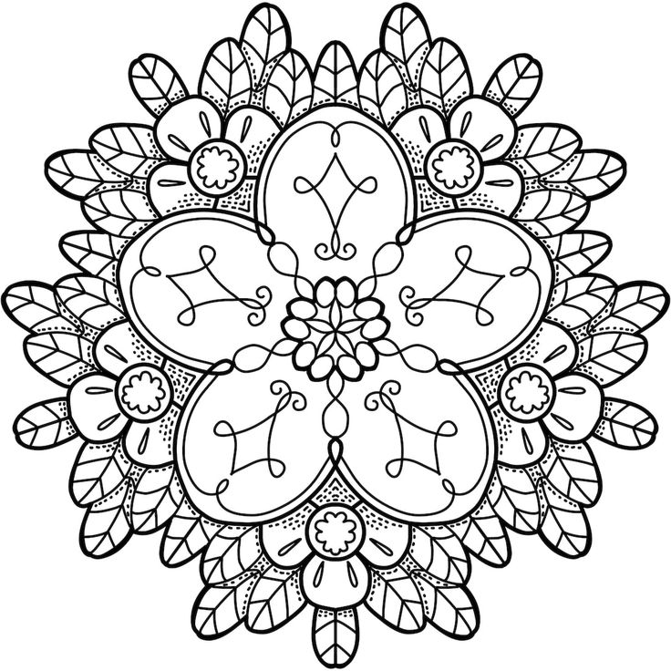 169 Best Printable Mandalas To Color