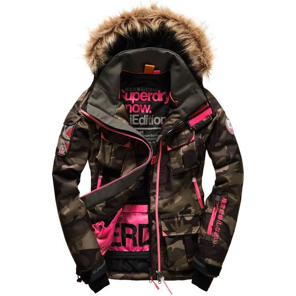 Ultimate Snow Jacket ($395) ❤ liked on Polyvore featuring outerwear, jackets and black jacket