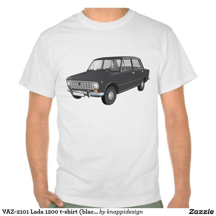 VAZ-2101 Lada 1200 t-shirt (black)  #vaz #vaz2101 #lada #lada1200 #fiat #soviet #sovietunion #automobile #car #tshirt #tshirts #russia #70s #80s #classic