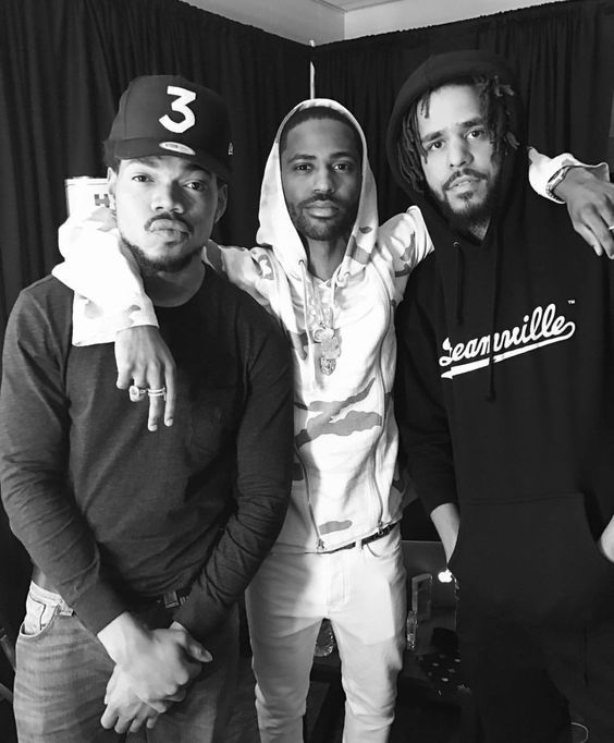 Chance the Rapper, Big Sean & J Cole. What a trio