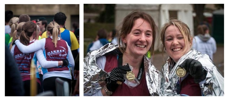 Becky's had a brain tumour herself & understands how life changing that can be. And now she's raising funds to help others when they are faced with a similar life changed experience. On 3rd March 2013 she ran the Bath Half Marathon with her friend Sarah, and they passed their sponsorship target to raise an amazing £1300…and you can still support them here http://www.justgiving.com/Becky-Brooks Thanks to you both for a great achievement.