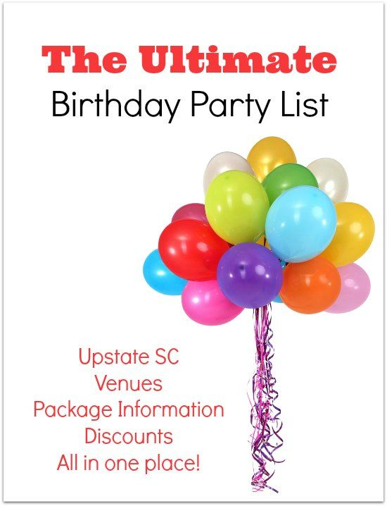 Are You Looking For The Perfect Birthday Party Venue In Greenville Or Maybe Want