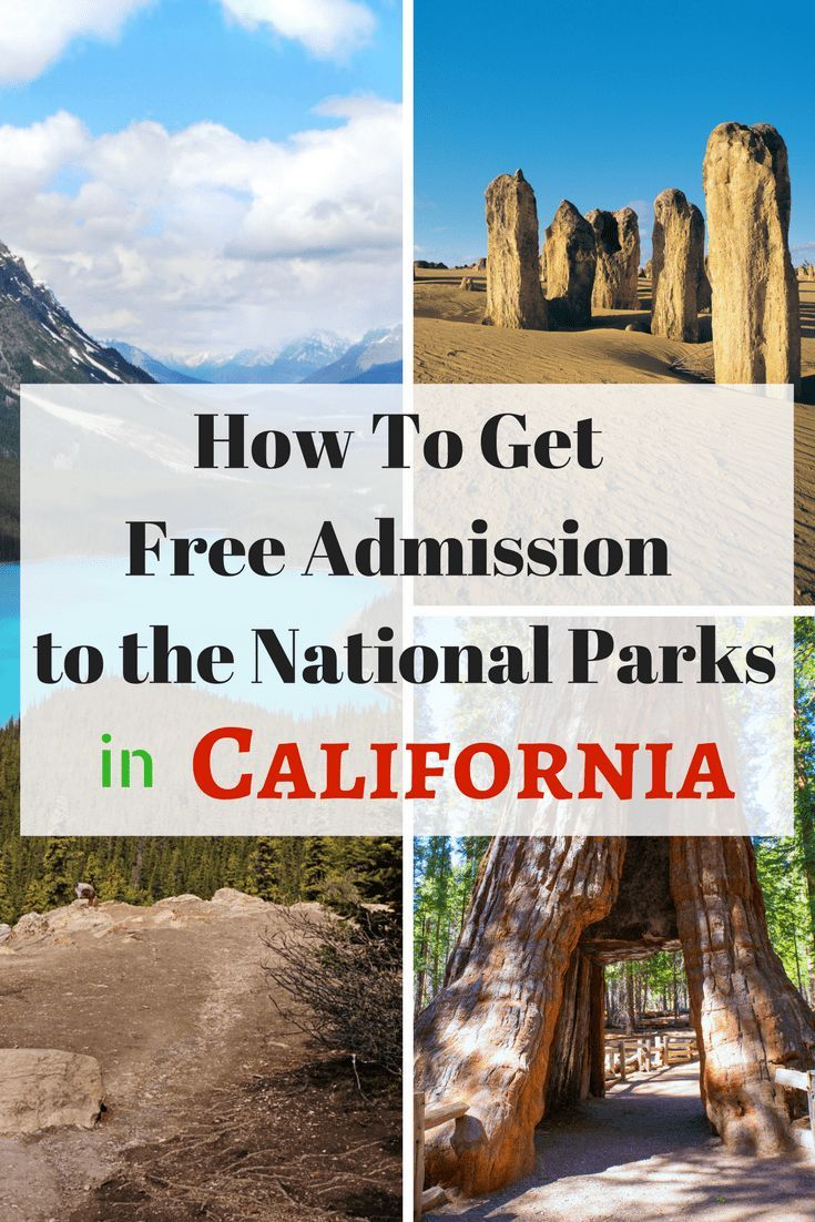 Do you like to travel or discover new places to explore? Mark your calendar now for this year's list of free entrance days to all of California's28+ National parks, monuments and sites. #hiking #travel