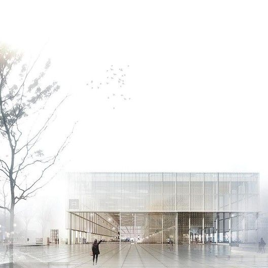 3 Winners Announced in Competition to Design the New Aarhus School of Architecture,Courtesy of Atelier Lorentzen Langkilde