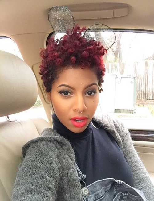 20 Short Curly Haircuts For Black Women Http Www Short