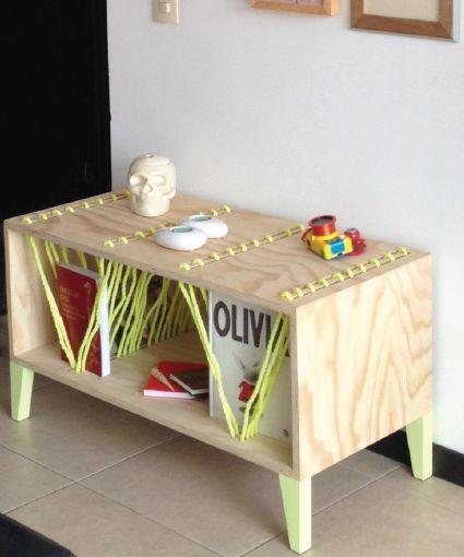 #wood #table #pine #robe #neon #beach #vibes #perlanegra