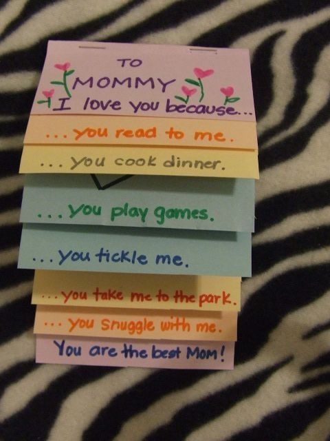 Mother's Day Craft ~ by winifred