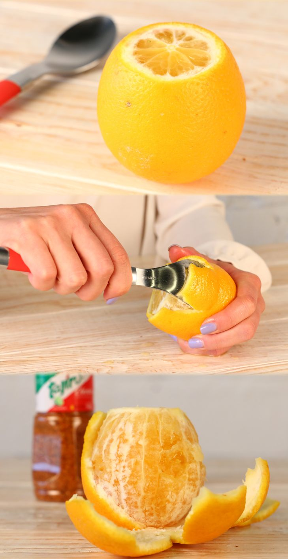 Peeling your oranges can be a lot easier than you Think ;) #TajinHacks  www.tajin.com