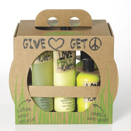 Eco-Friendly Hair Care. Gail I thought of you when I saw this cute packaging.