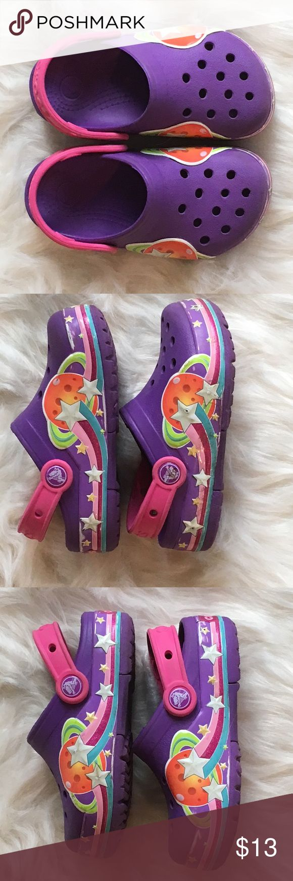 🛸Kids Space Crocs Size 10🛸 Kids Space Style Crocs Size 10 used but in great condition! CROCS Shoes Water Shoes #WaterShoes