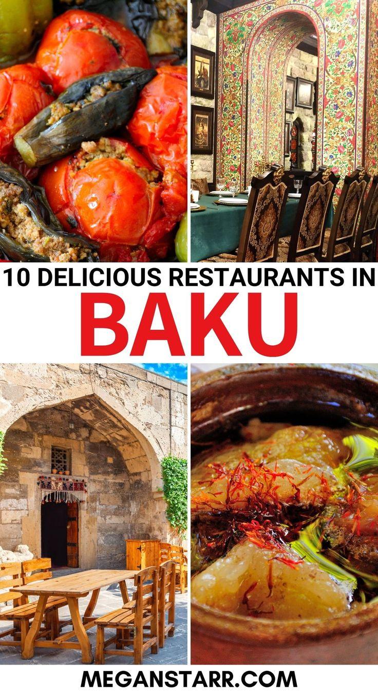 10 Best Restaurants In Baku Azerbaijan For Tasty Traditional Food Delicious Restaurant Food Georgian Food