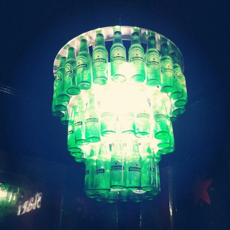 Great lamp #beer #heineken