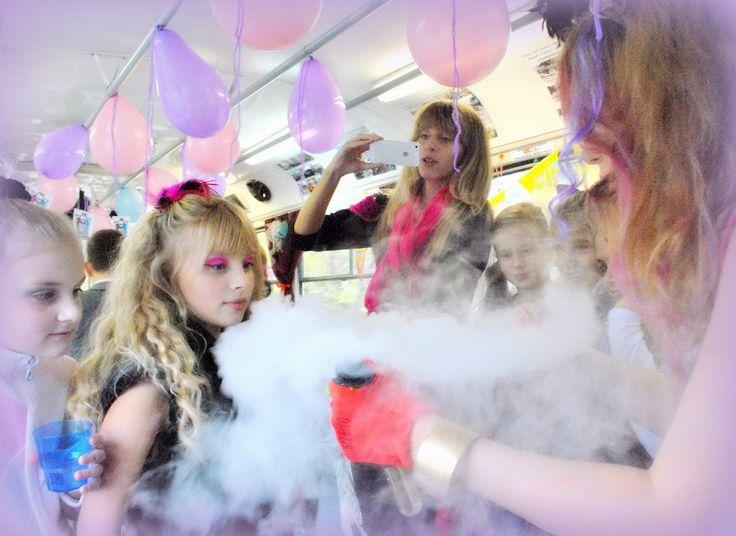 Шоу сухой лед на детский праздник,киев