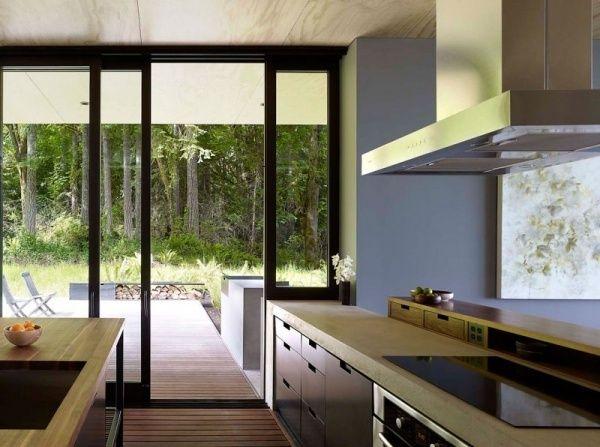 Elegant Villa moderne Einbauk che