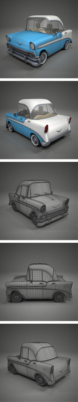 Chevrolet Bel Air Toon by German Lagna
