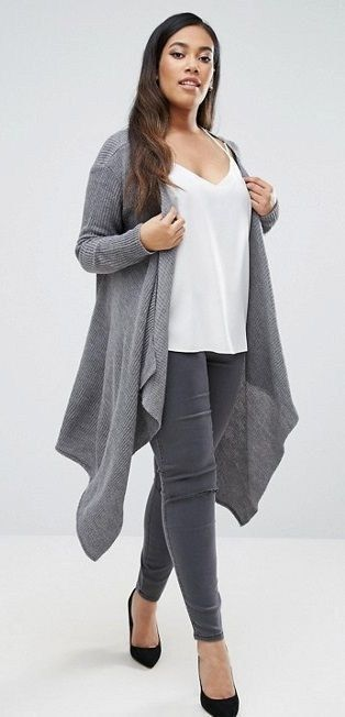 45 Amazing Cardigan Ideas for Plus Size Women