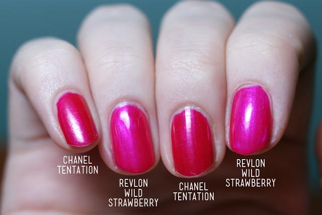 Chanel Tentation Nail Polish Dupe!!