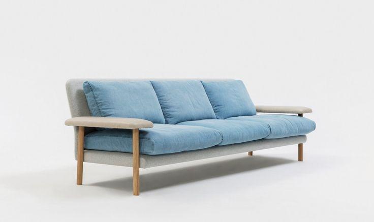 Baby Blue Pastel Jardan Lounge | Rufus Sofa