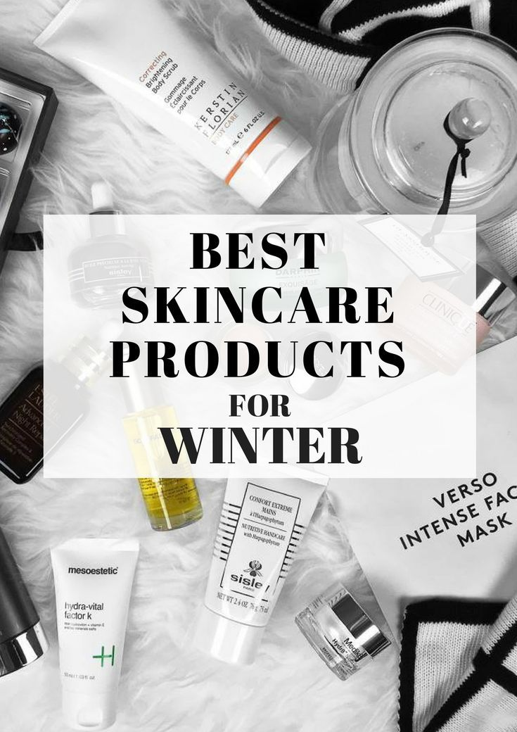 THE BEST SKINCARE PRODUCTS FOR WINTER | http://fromluxewithlove.com/best-skincare-products-for-winter/ #skincare #beauty