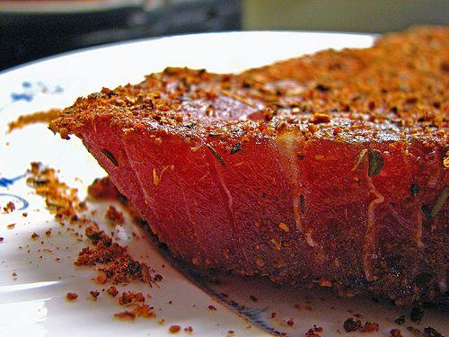 Blackened Tuna Steaks