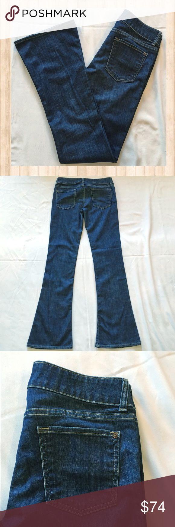 Vince blue med/dark wash flare jeans Vince blue med/dark wash flare jeans. Measurements coming soon! Vince Jeans Flare & Wide Leg