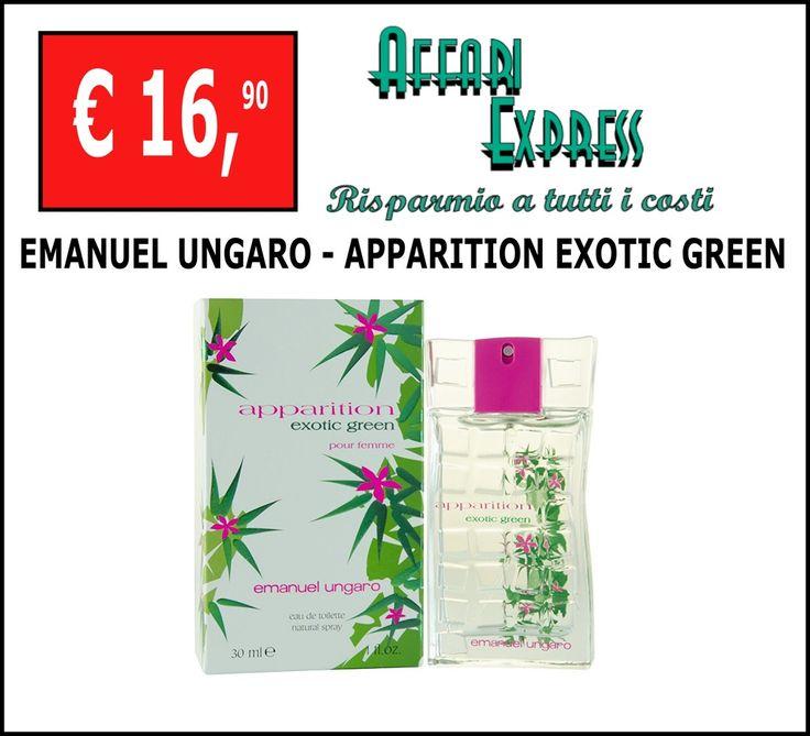 Profumo donna EMANUEL UNGARO - APPARITION EXOTIC GREEN