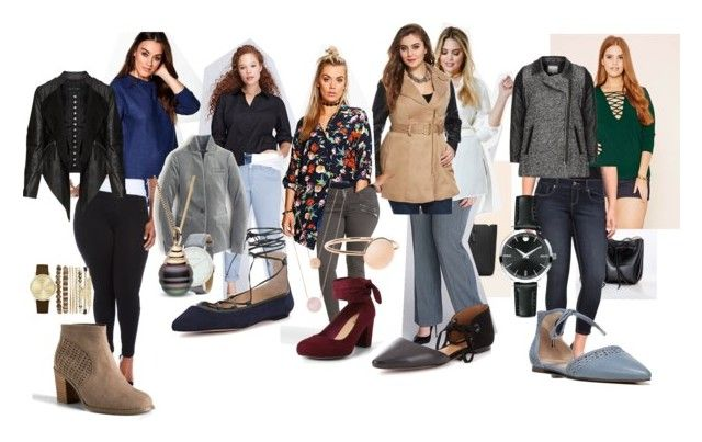 """Everyday Outfits"" by heltamanda on Polyvore featuring Torrid, Violeta by Mango, Franco Sarto, Boohoo, Lane Bryant, Antonio Melani, J.Crew, Zizzi, Movado and Larsson & Jennings"