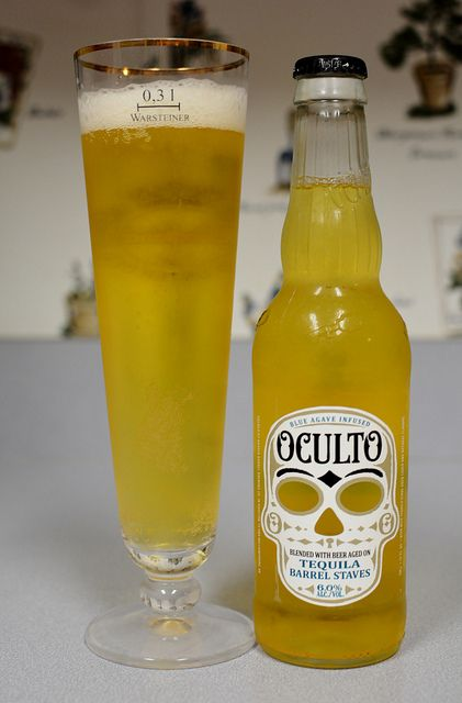 Blue Agave Infused Oculto | Blended with beer aged on tequil… | Flickr