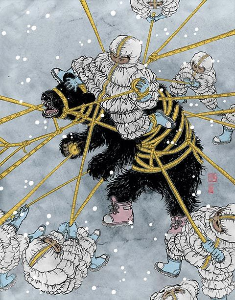 New York-based Japanese illustrator Yuko Shimizu