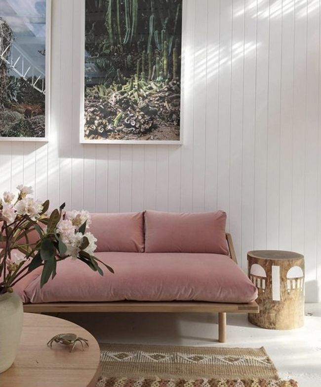 Stump Table Rose Quartz Is Still Madly Trending Get On Board With A Soft Pink Sofa Weve Rounded Up 10 Of The Best And Tell You Where To Buy Them